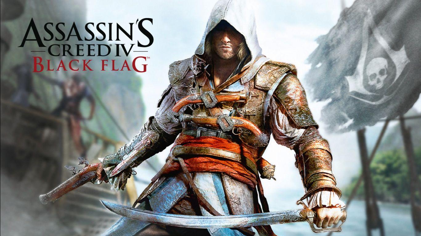 1366x768 Assassins Creed Iv Black Flag Wallpaper Kosplej Klinok