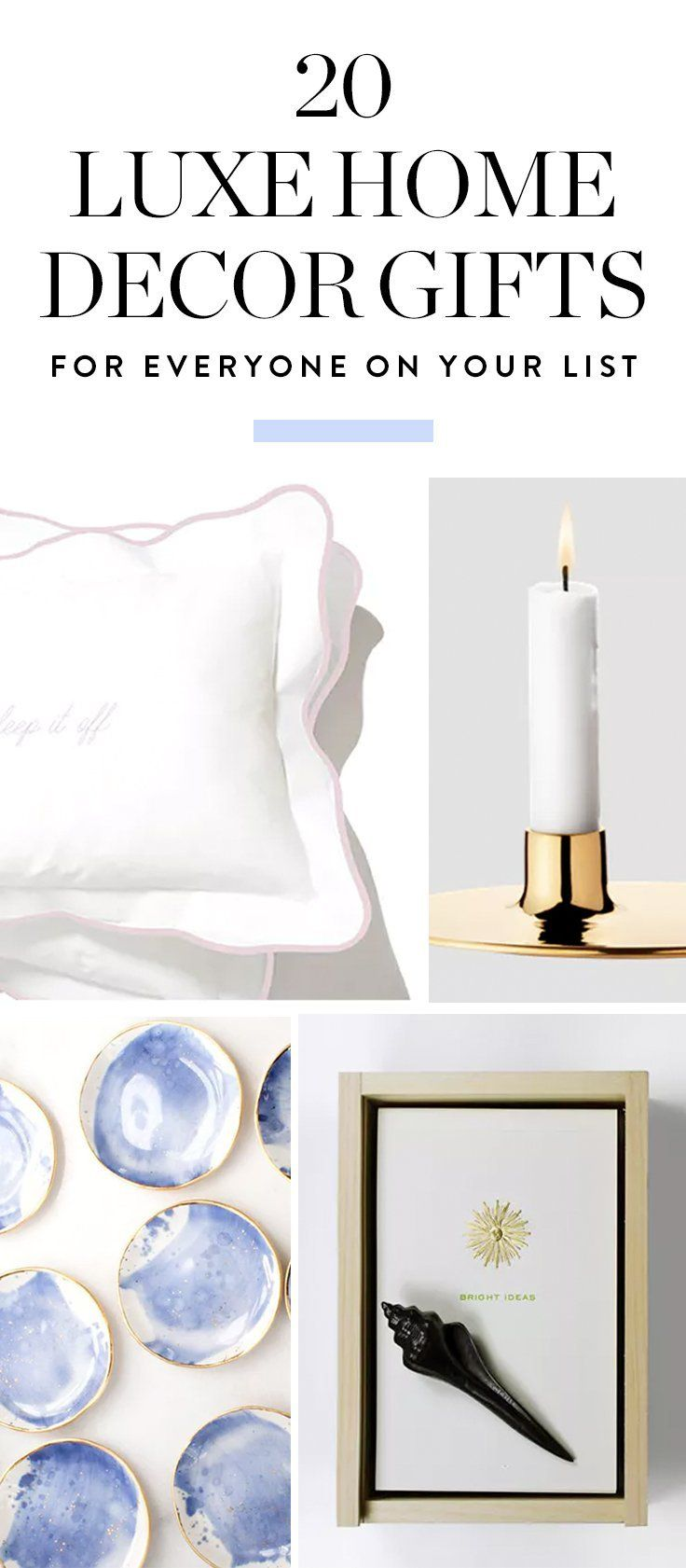 24 Luxe Home Decor Gifts for Everyone on Your Holiday List  Home