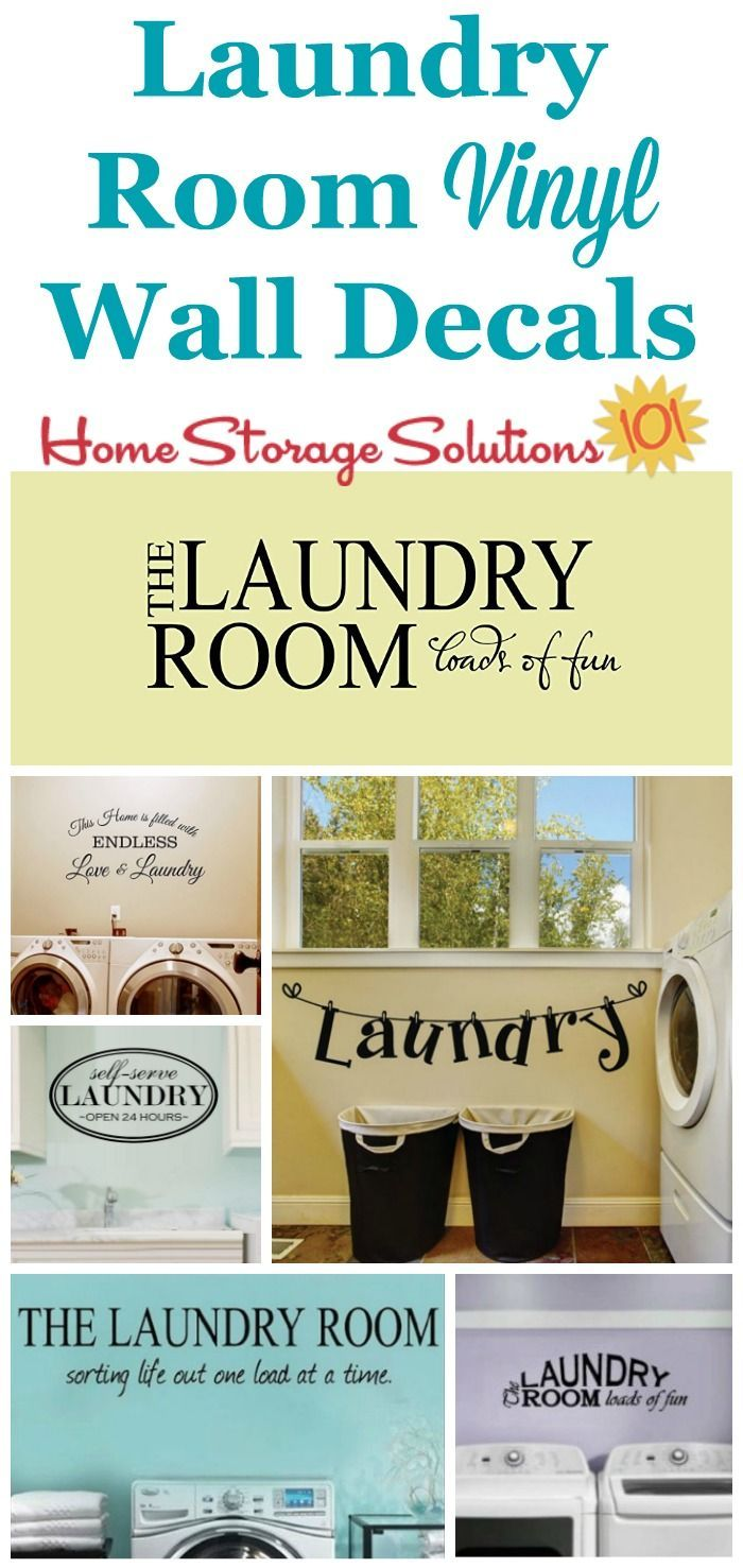 Laundry Room Wall Sayings Delectable 5 Laundry Room Decor Ideas  Laundry Rooms Room Decor And Laundry Inspiration Design