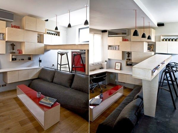 Ultra Tiny Apartment that Is Big on Surprises