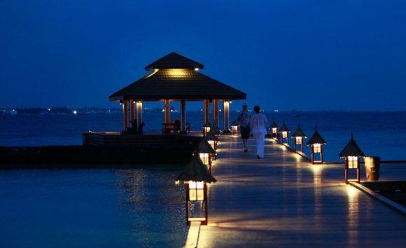 la noche maldiva
