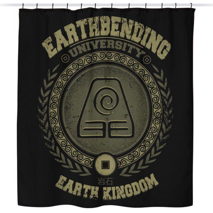 Earthbending University - Shower Curtain