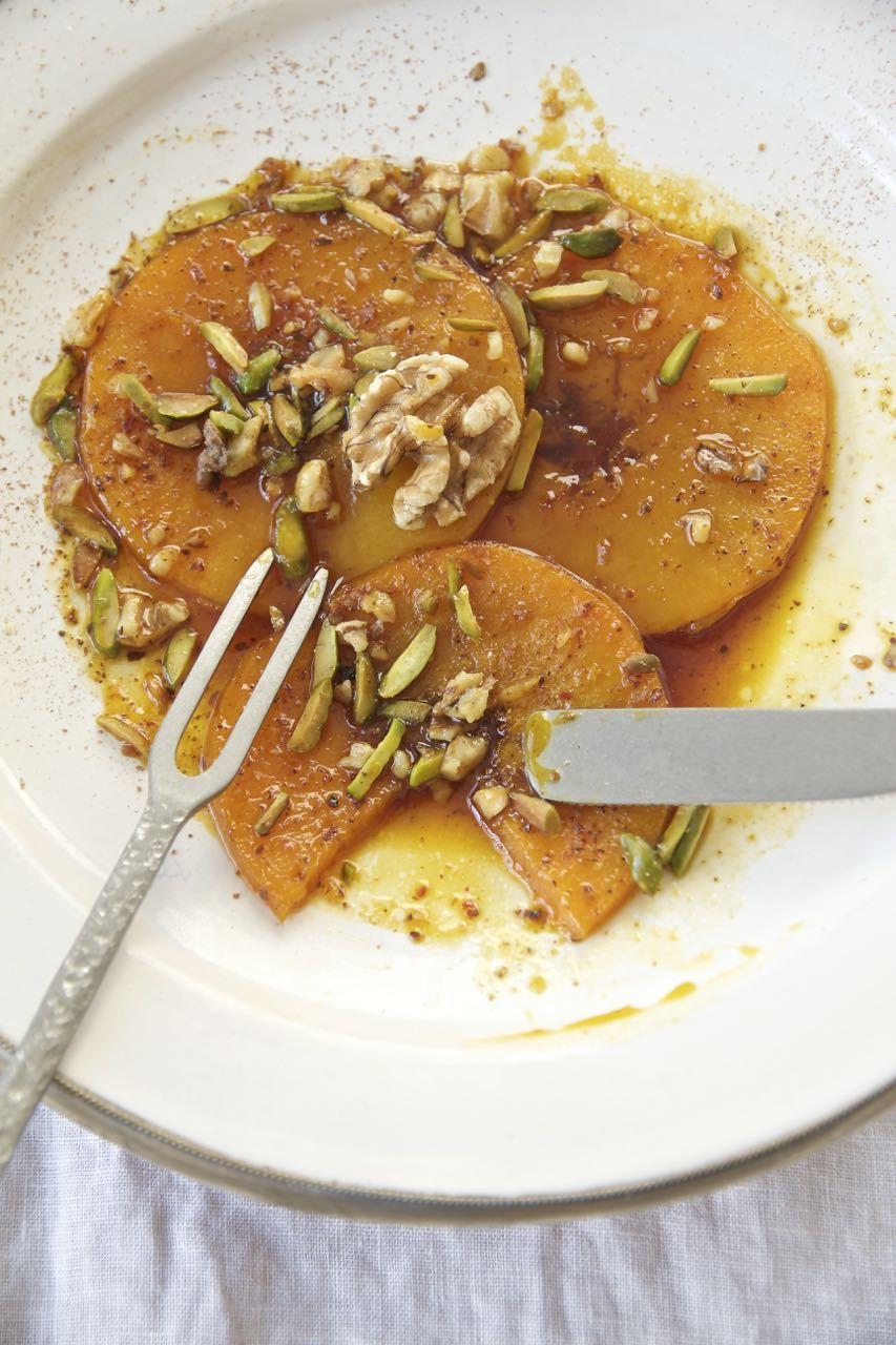 Desser E Kadu Halvai Butternutkurbis In Safran Zimt Sirup Rezept Mit Bildern Rezepte Persische Gerichte Persische Rezepte