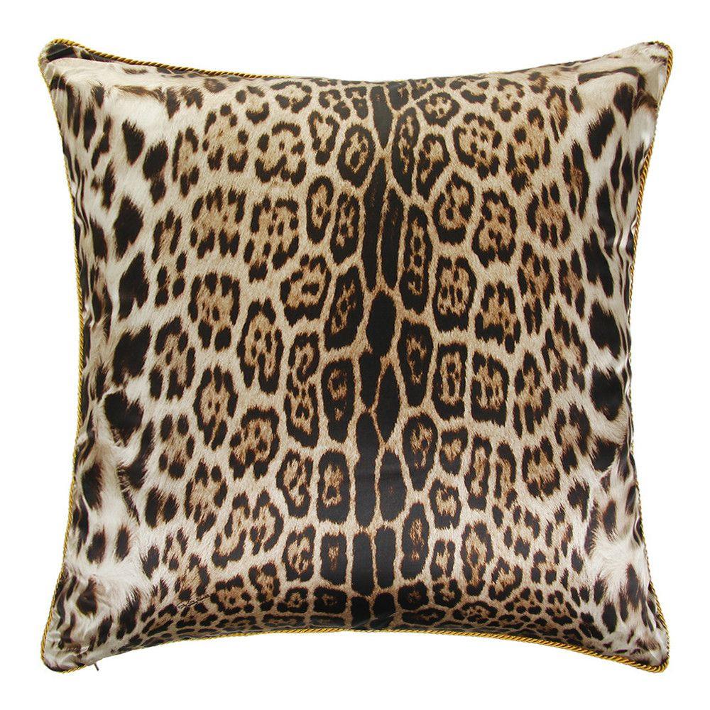 Cuscini Cavalli.Buy Roberto Cavalli Bravo Silk Bed Pillow 001 60x60cm