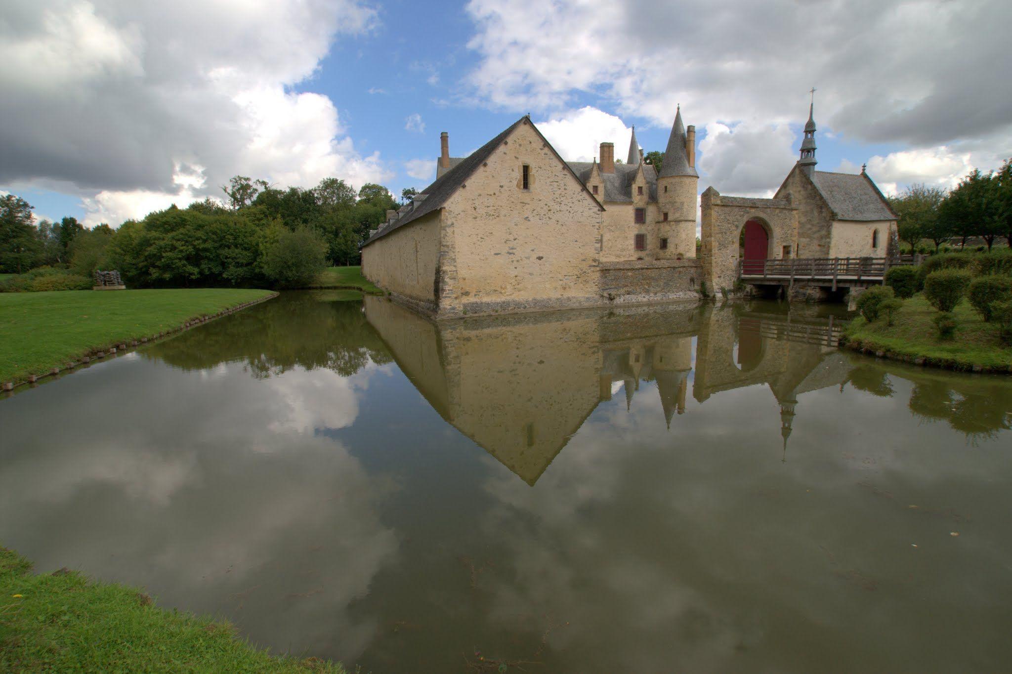 Chateau Du Bois Orcan Xive Xve S Classe Mh Credit J F