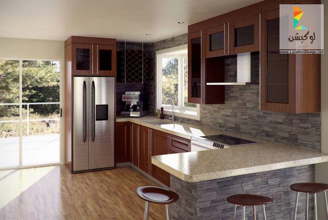 احدث الأفكار و التصميمات للمطابخ الامريكاني 2017 اهم ما يميز المطبخ الأمريكي و التقليدي لوكشين ديزين نت Cool Kids Bedrooms Kitchen Cabinets House Design