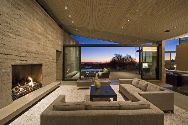 Unique Contemporary Minimalist Desert Wing In Arizona Home Design Lover
