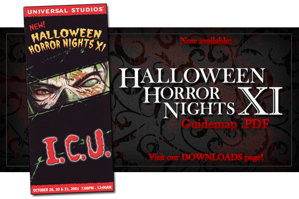 "Freebie Friday HHN XI ""I.C.U."" Guidemap .pdf Today's"