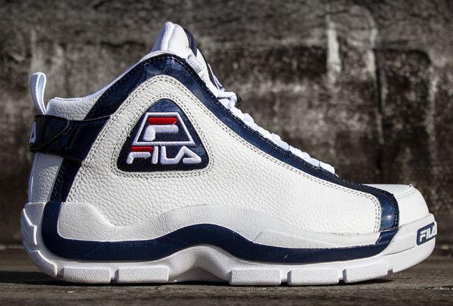2013 Release: Fila 96 (Grant Hill 2 Retro basketballsko  Retro basketball shoes