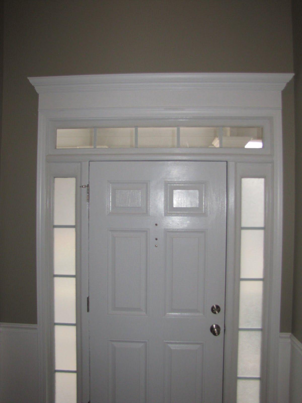 cheriesparetime Door Crown Moulding Interior of front