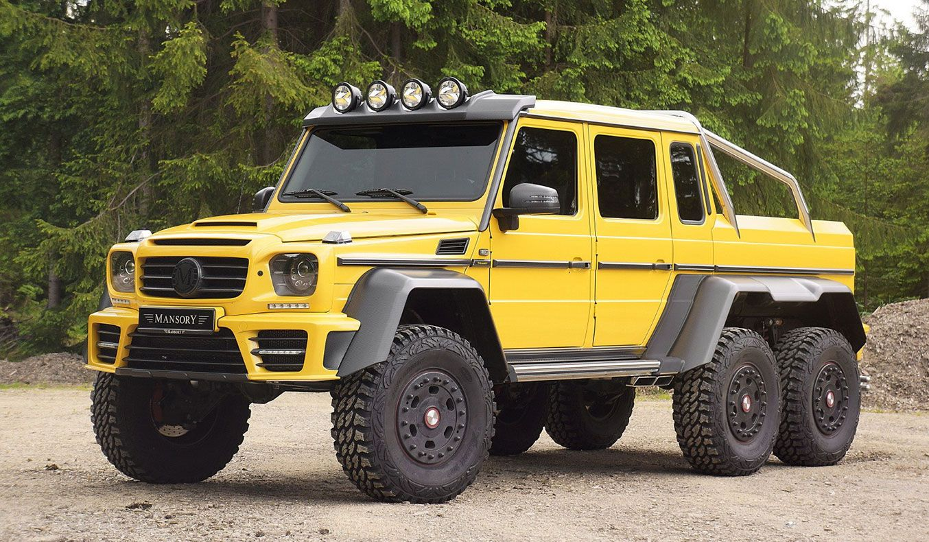 Mansory Mercedes Benz G63 Amg With Fi Exhaust With Images