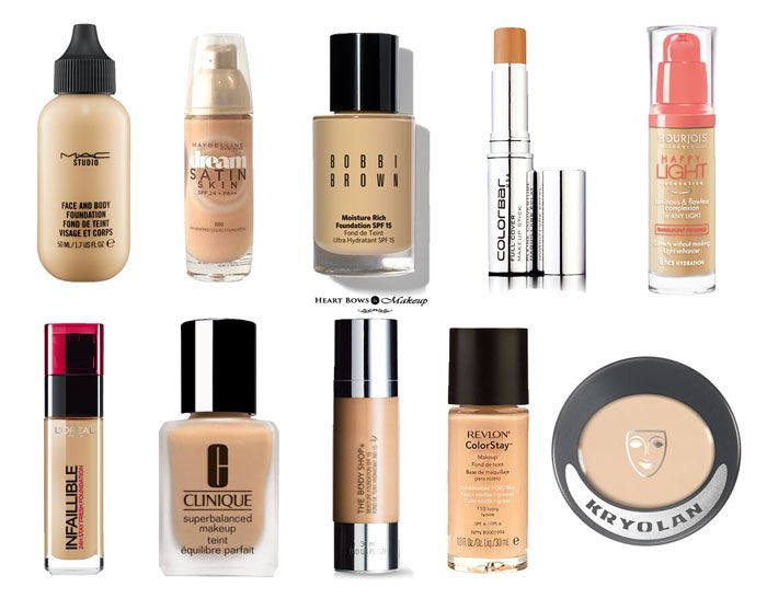 Best makeup foundation dry skin you