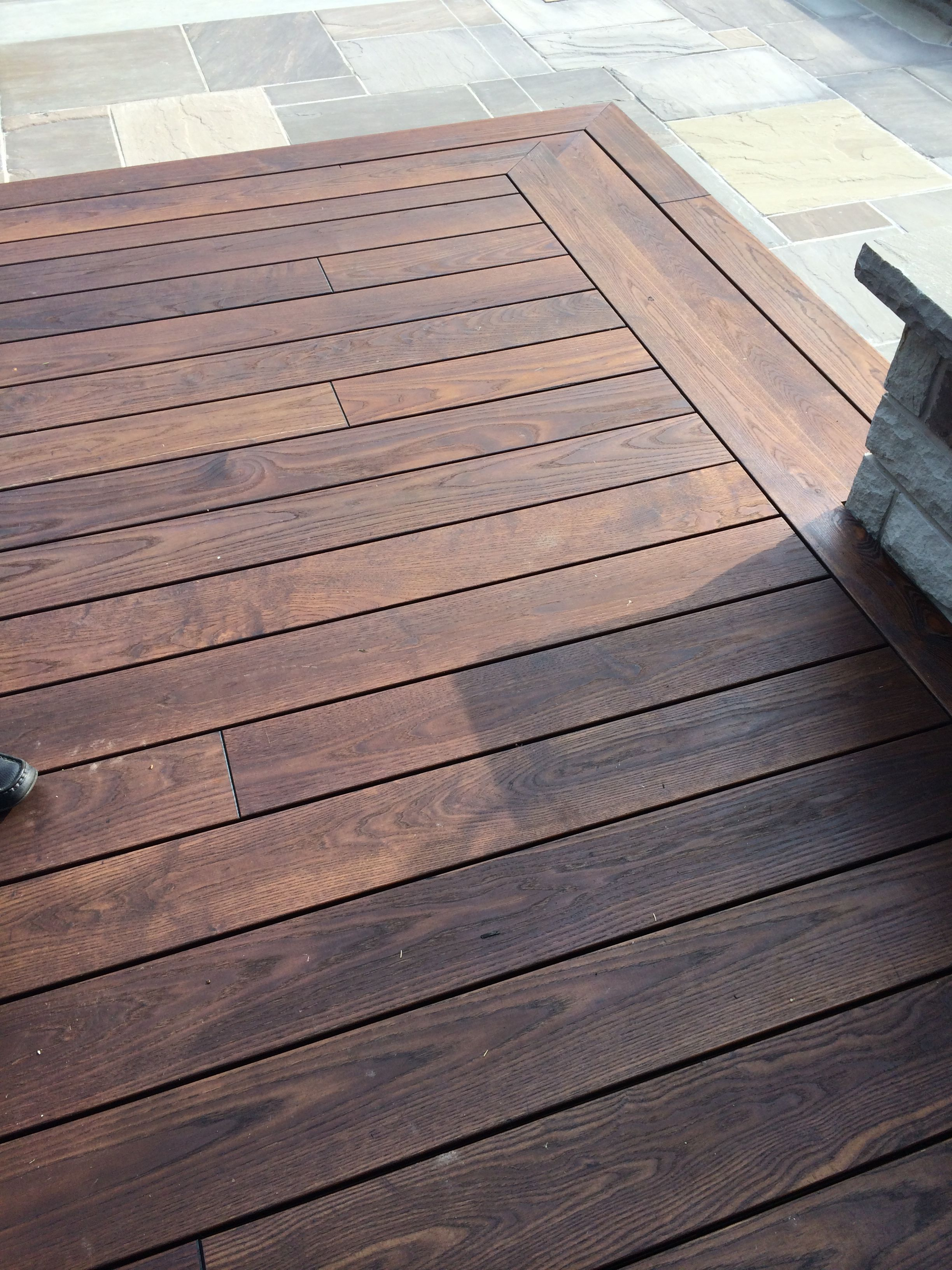 Thermory Ash Decking...Call Peter Bray on 0412068464 for product sales and  information.