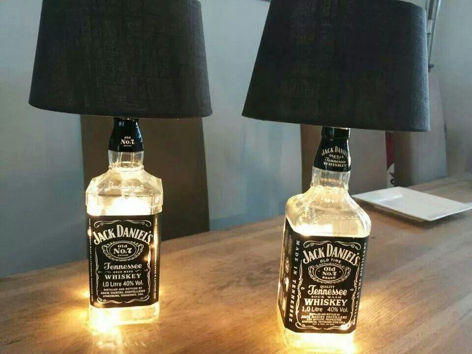 jack daniels lamp jd diy 39 s pinterest. Black Bedroom Furniture Sets. Home Design Ideas