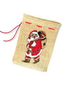 Weihnachts-Säckchen, leer