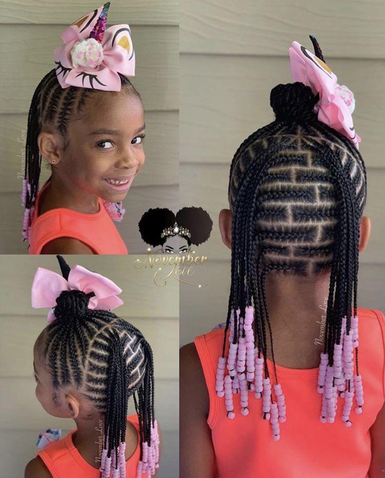 Kids Braided Hairstyles Image By Keyette Joiner On Kid Hair Lil
