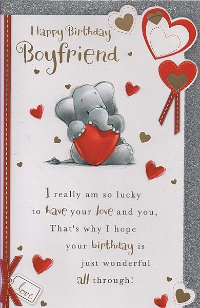Happy birthday cards boyfriend my birthday pinterest birthday happy birthday cards boyfriend m4hsunfo Choice Image