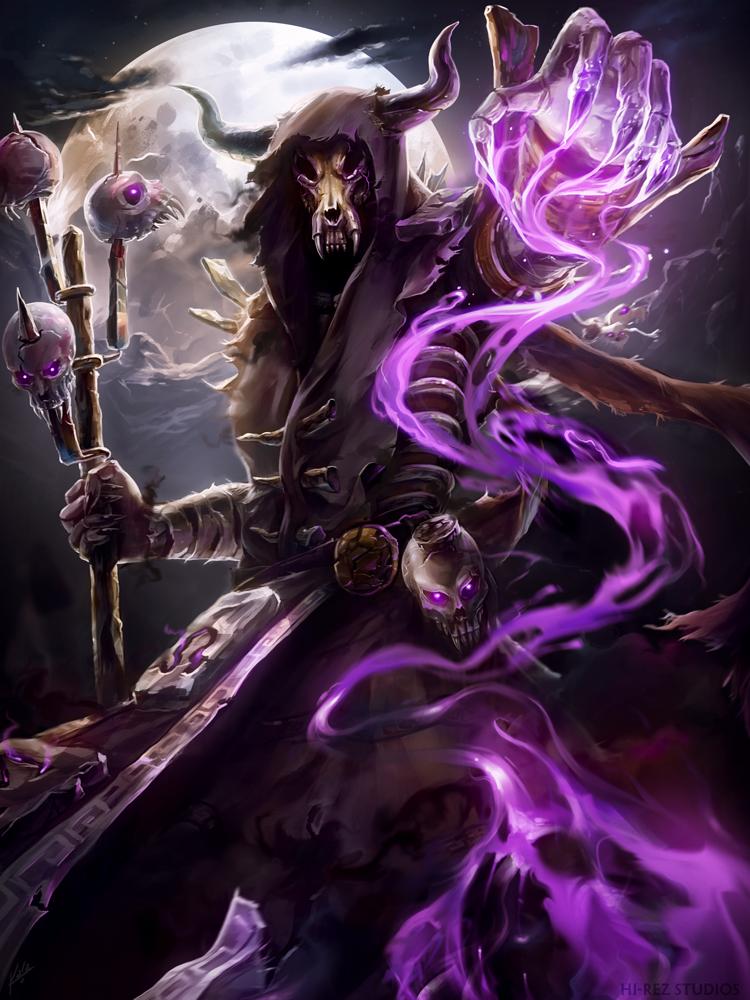 Hades- Soultaker by KalaSketch on DeviantArt | smite | Demon artwork