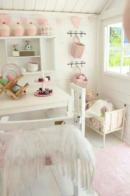 shabby chic girl 39 s room shabby chic vintage victorian french country lacy whites. Black Bedroom Furniture Sets. Home Design Ideas