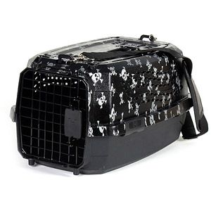 Howard Pet 2 Door Pet Carrier Skull And Crossbones With Images Pet Carriers Cat Carrier