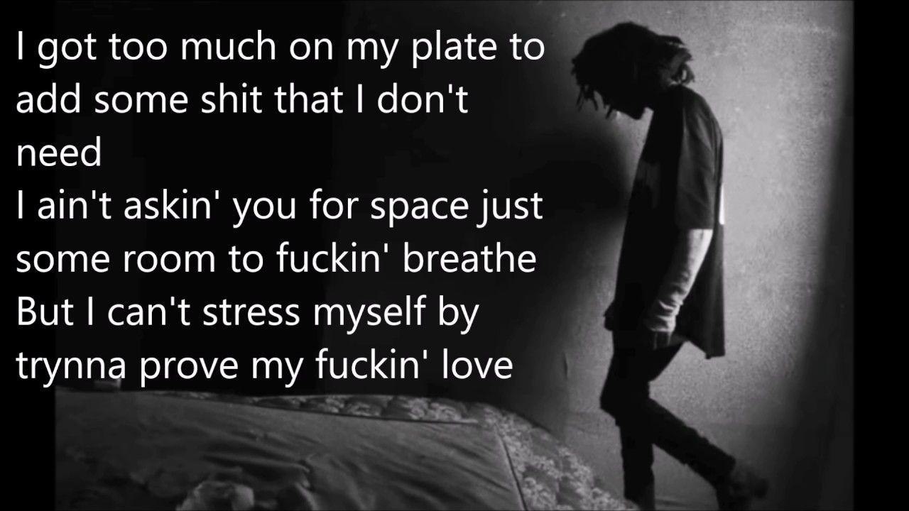 6lack Luving U Lyrics Youtube 2017 Melodic Lyrics Song