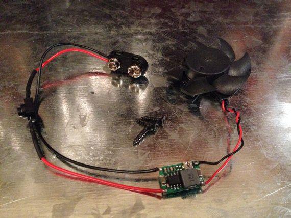 Exhaust Fan Kit for our 2nd Gen NCR Veteran Ranger Helmet