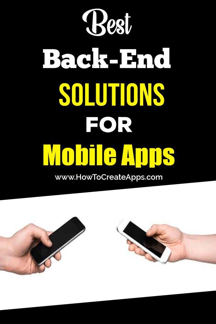 Best BackEnd Solutions for Mobile Apps (med bilder)