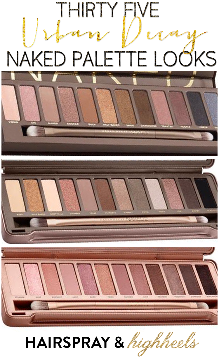 Naked Eyes Neutral Eyeshadow Guide: Urban Decay Palette On Pinterest