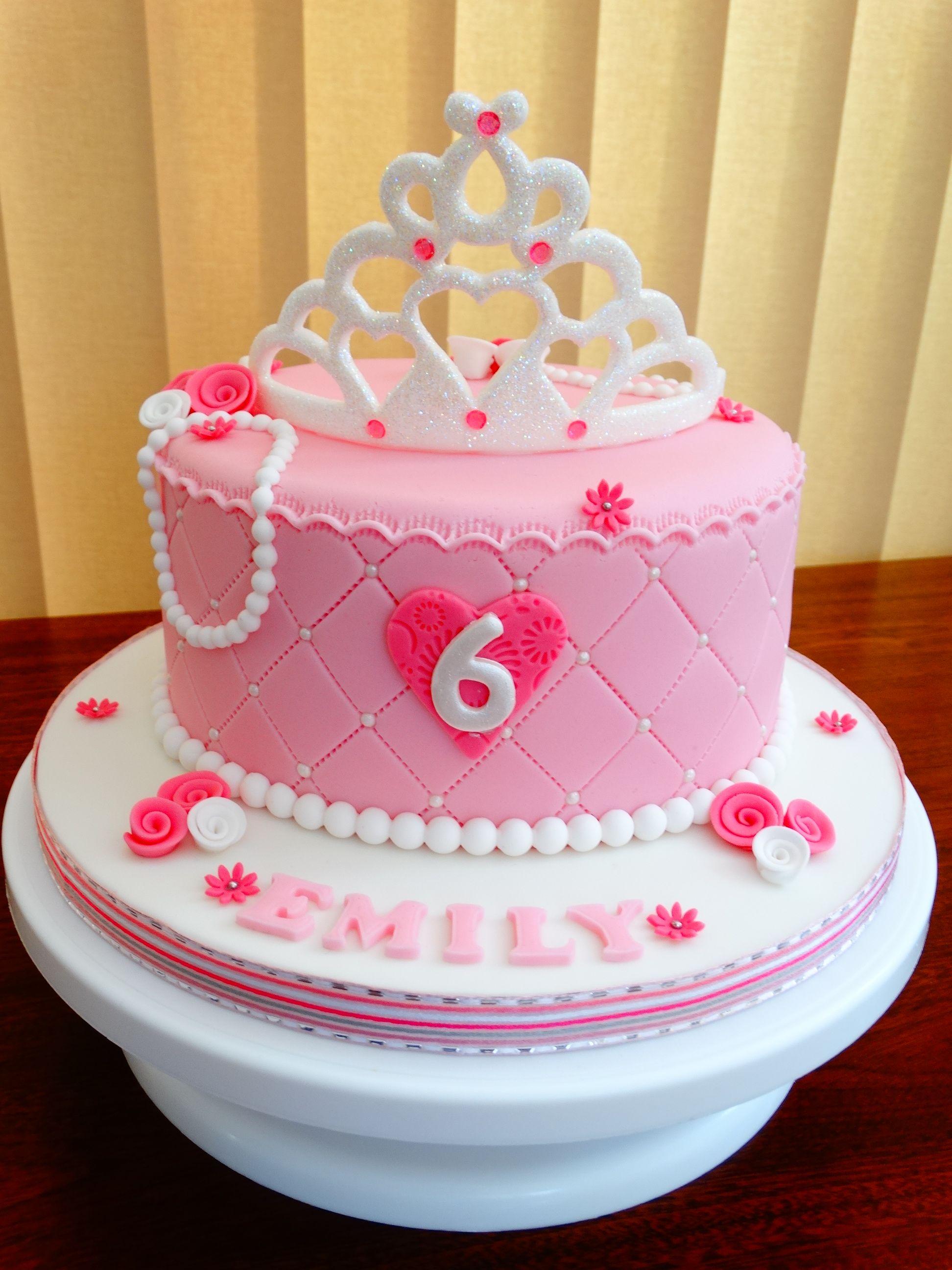 Princess Tiara Cake Xmcx