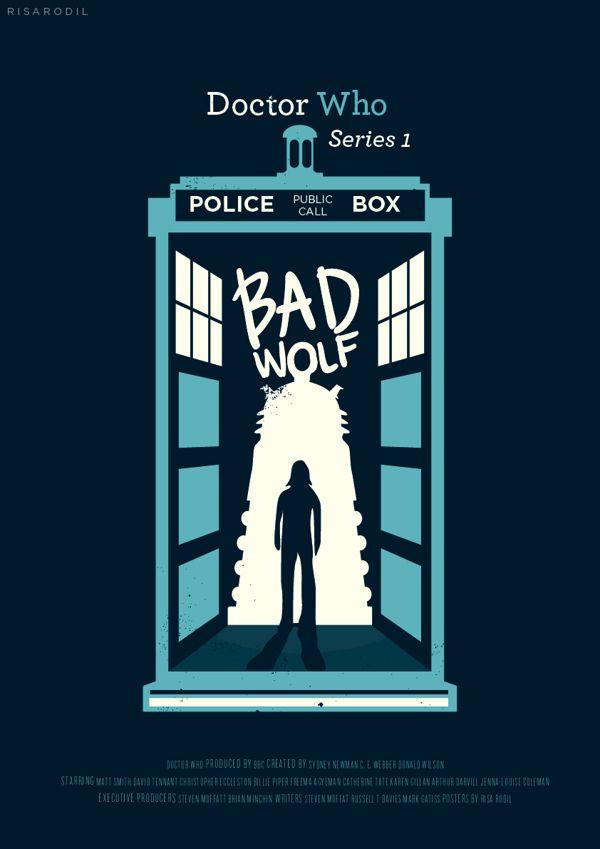 Doctor Who Story Arcs by Risa Rodil, via Behance