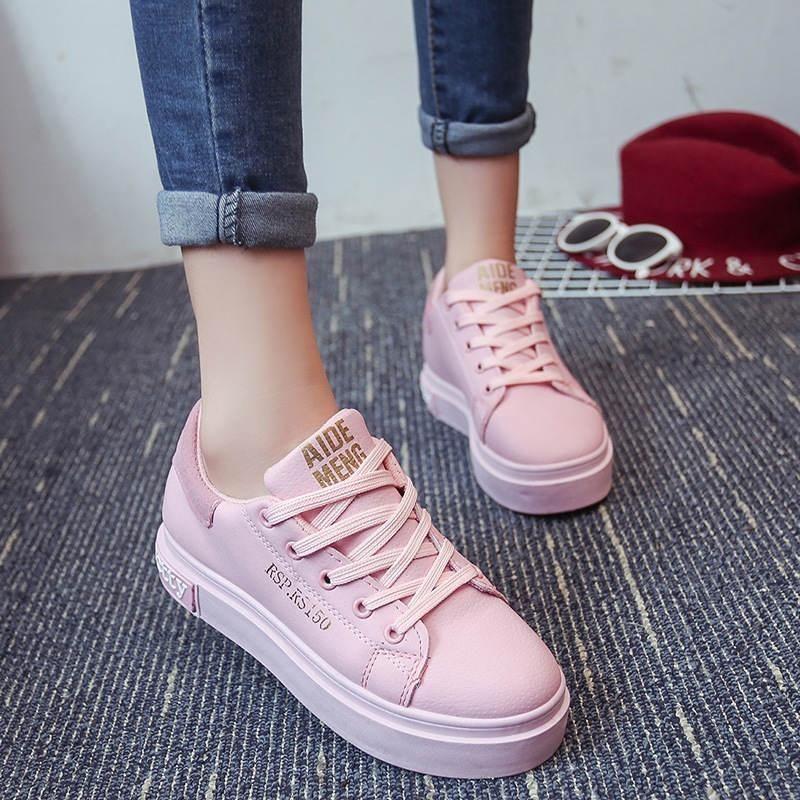 Zapatillas Casuales Con Plataforma De Suela Gruesa Super Promo Walking Shoes Women Sport Shoes Women Women Shoes