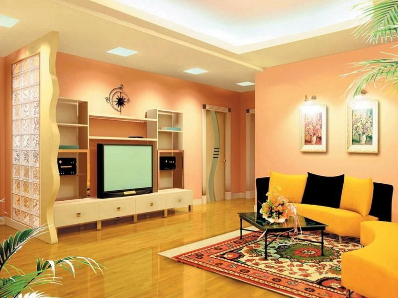best colour combination for living room interior decorating and - Colour Combinations For Living Room