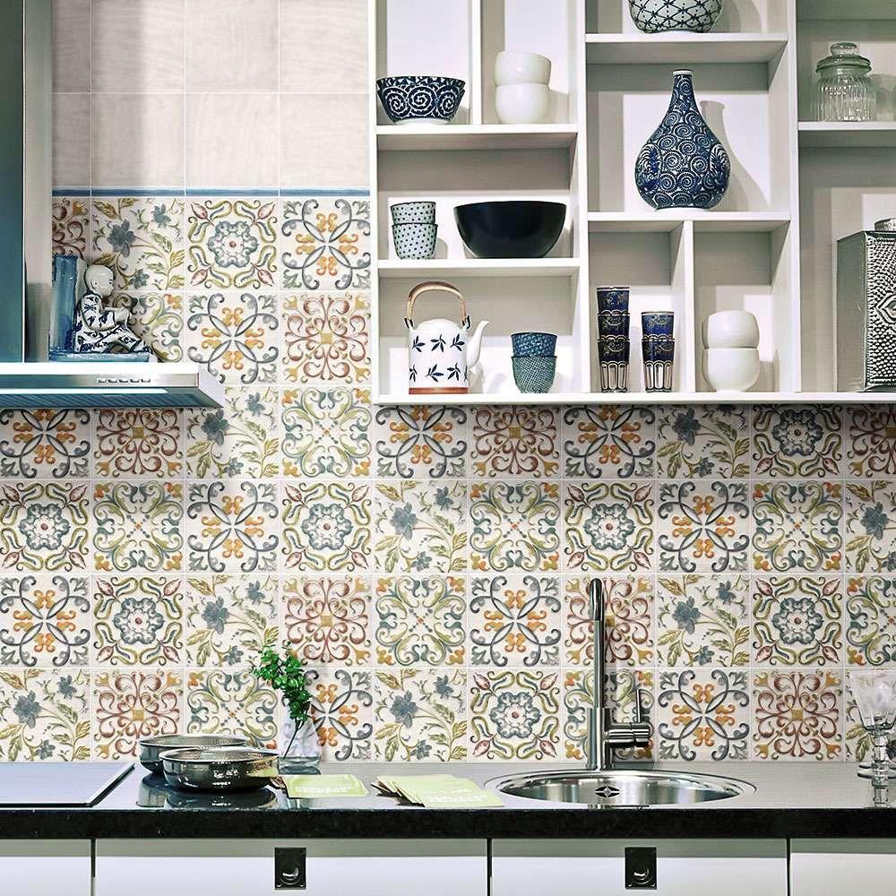 48 Exellent Kitchen Tiles Motif Decortez Moroccan Tiles Kitchen Kitchen Wall Tiles Country Kitchen Decor
