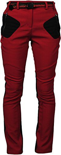 Introducing Angel Cola Womens Outdoor Hiking  Climbing Quilted Fleece Lined Pants PW5404 Red 27. Great product and follow us for more updates!