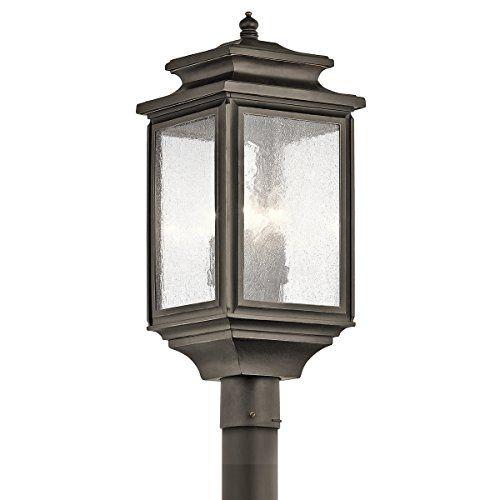 Kichler 49506oz 4 Light Outdoor Post Mount Lantern Kichler Http Www Amazon Com Dp B00r5o2pwk Ref Cm Sw R Pi Dp Rvlowb118dse9