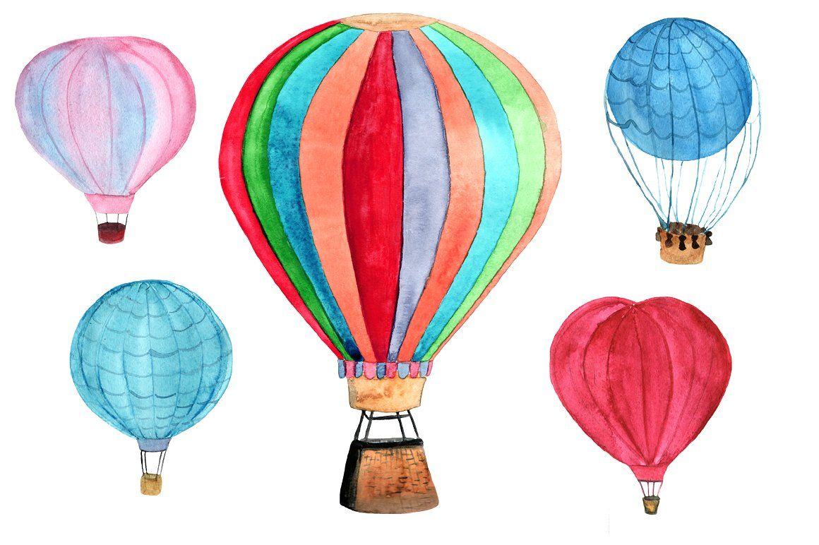 5 Hot Air Balloon Png Jpeg Balloons Air Balloon Hot Air Balloon