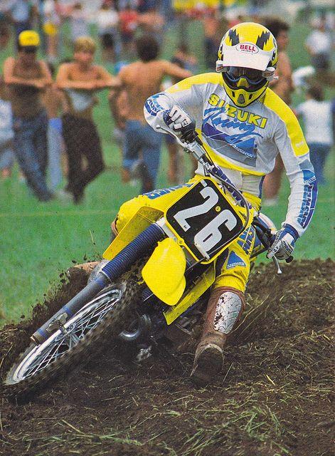 Bob Hannah, at Unadilla. motocross. Hurricane Hannah