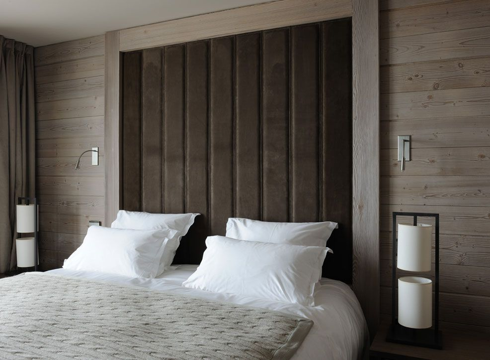 Revetement mural 5 murs cuir en 2019 mobilier de salon chambres parentales et hotel courchevel - Idee revetement mural ...