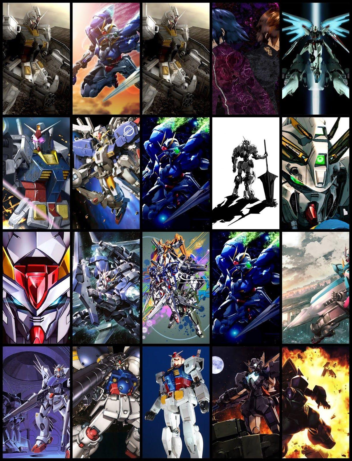 Gundam Wallpaper Pack For Android Phone (Part 04) Gundam