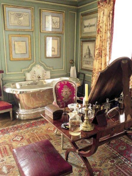 the french château bathroom | Bathroom Envy | French country
