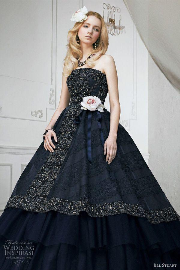Jill Stuart Wedding Dress Collection 2011 — Print & Color Bridal ...