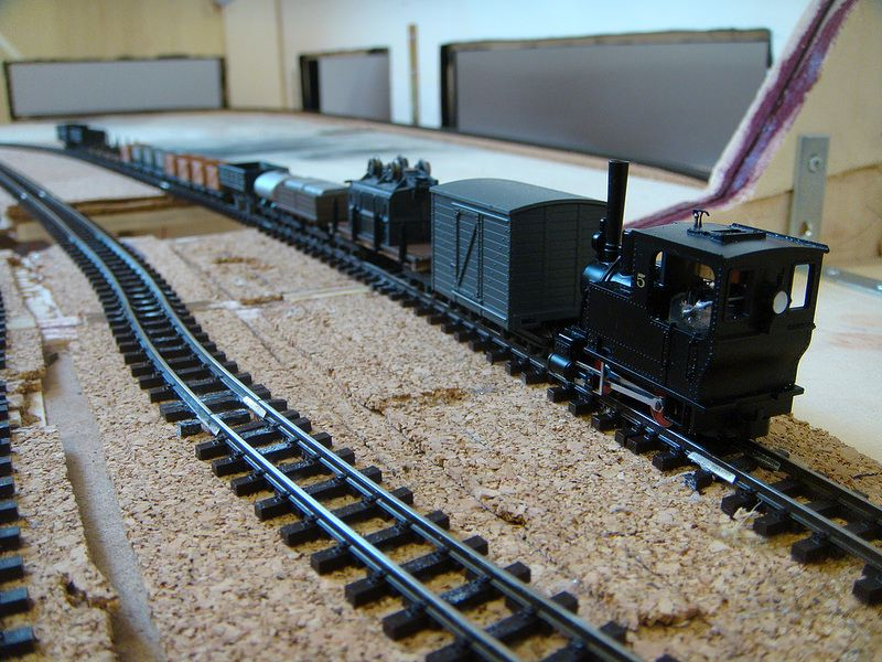 H0 Layout: Logging at the Turn of the 20th Century - Model