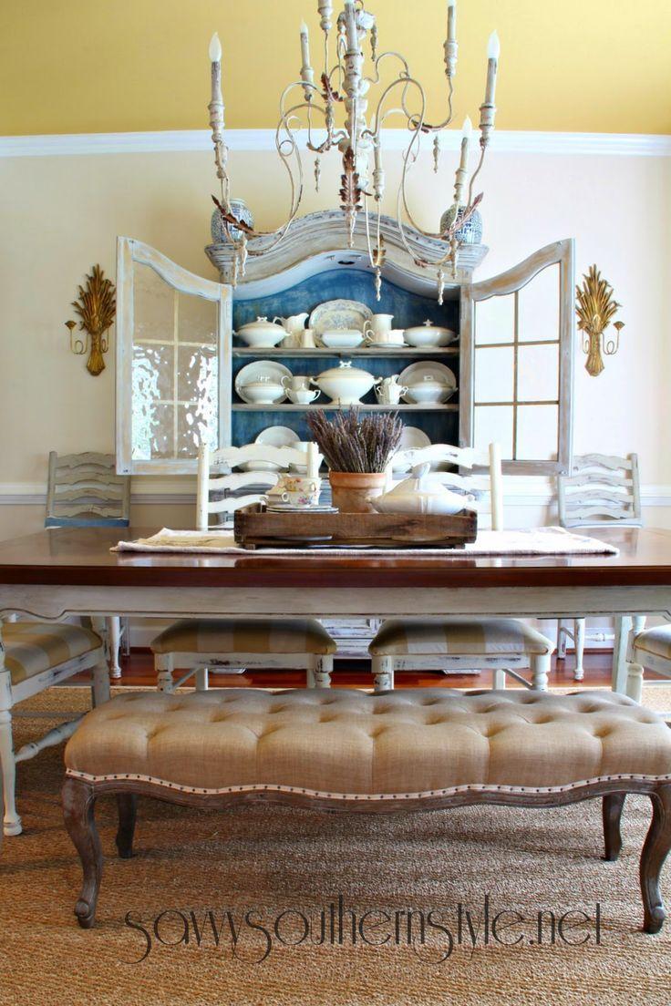Esszimmer im französischen Landhausstil, Amy Howard One