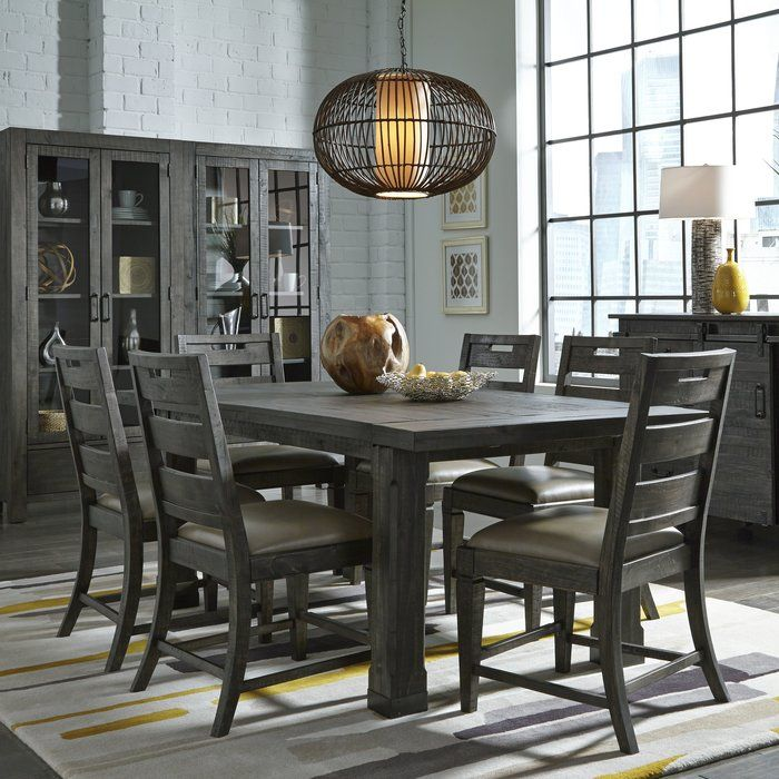 Lovely Contemporary 7 Piece Dining Set