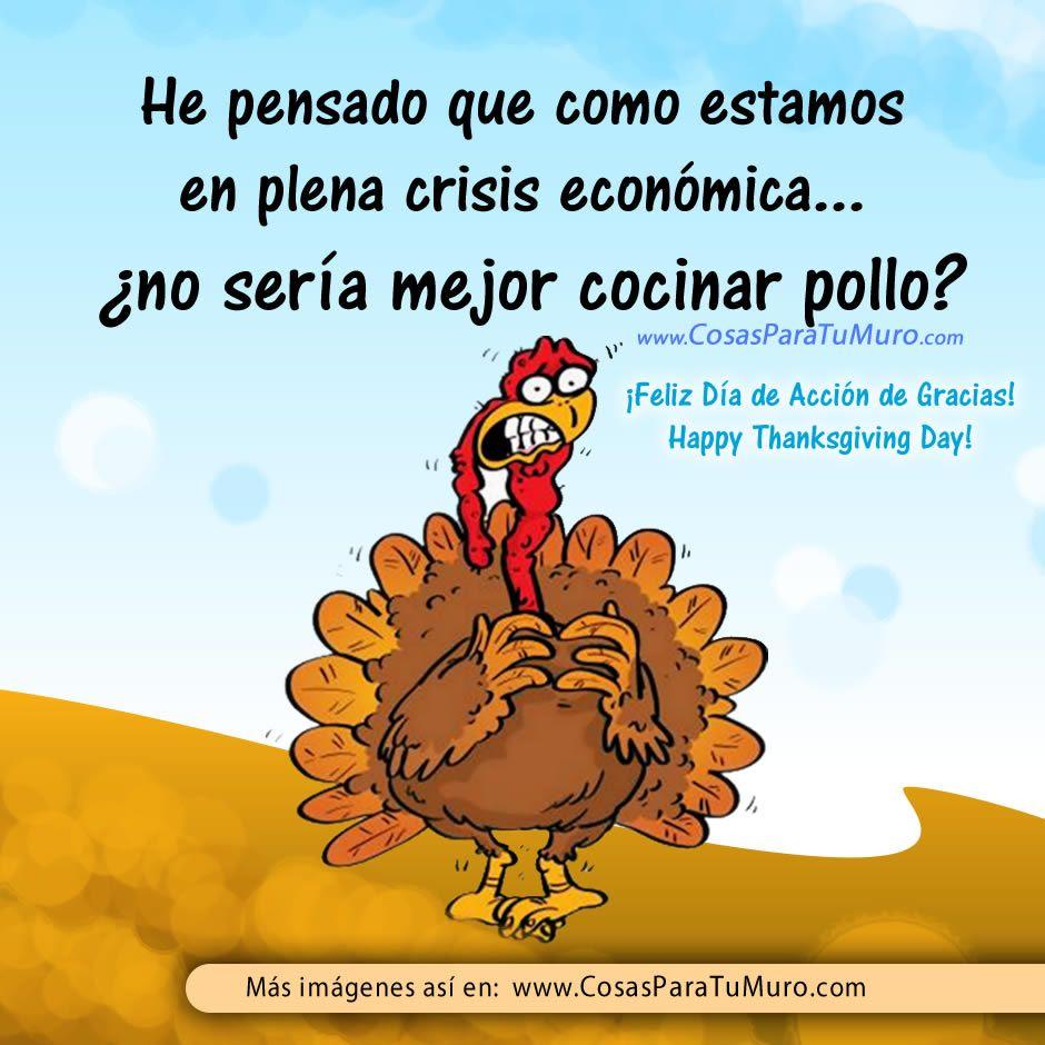 Pollo para Thanksgiving