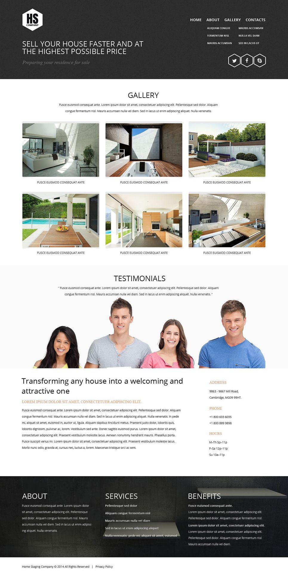 Home Staging Responsive Website Template 52078 Website Template Interior Design Website Responsive Website Template