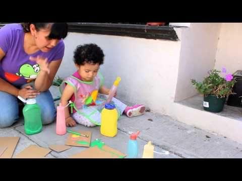 Juego Creativo Pintura Inflable Casera Para Ninos De 2 Anos En