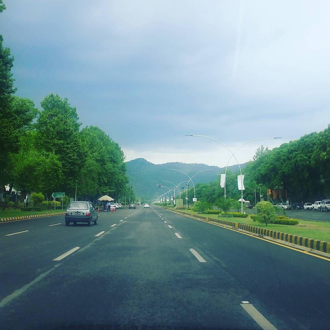 Islamabad Roads: Awesome Weather In #Islamabad #pakistan
