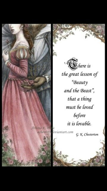 Beauty and the Beast Art.