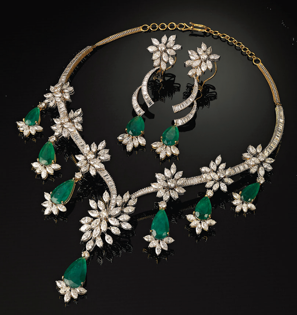 House of Kashi Diamond Jewellery Collection displayed at Dubai